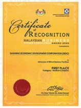 Malaysia Business Ethics Excellence Award 2008